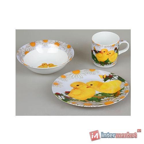 Набор детской посуды Rosenberg 8793 (3 пр.)